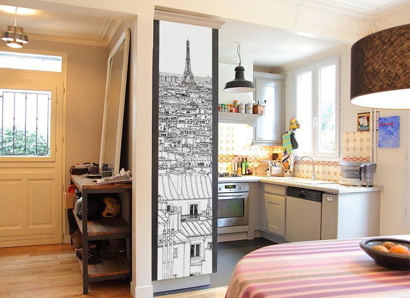 quelle couleur de papier peint avec des meubles en chene brest plan maison et devis papier. Black Bedroom Furniture Sets. Home Design Ideas