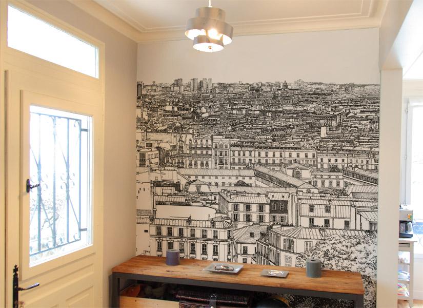 Papier peint original d coration murale en dition limit e ohmywall p - Papier peint original ...