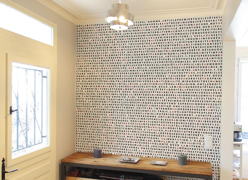 papier peint original d coration murale en dition limit e papier peint panoramique droits. Black Bedroom Furniture Sets. Home Design Ideas