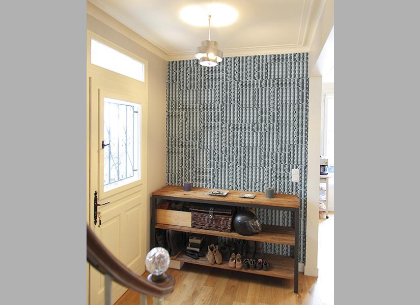 papier peint original d coration murale en dition limit e papier peint panoramique boites d. Black Bedroom Furniture Sets. Home Design Ideas
