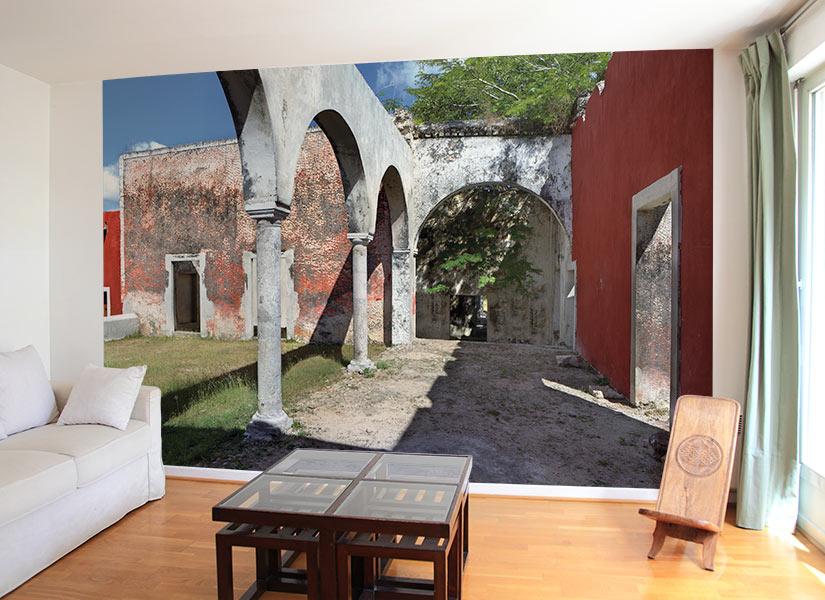 papier peint original d coration murale en dition limit e perspective. Black Bedroom Furniture Sets. Home Design Ideas