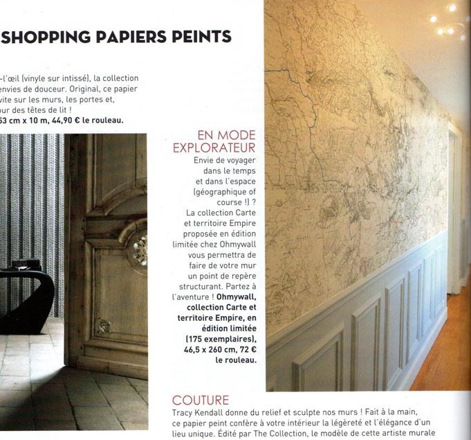 Modele papier peint cuisine papier peint cuisine brique for Tapisserie cuisine 4 murs