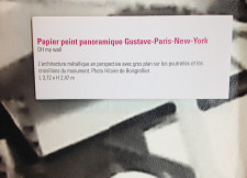 Papier peint Gustave Paris New York