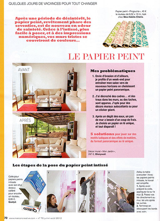 Maison dcoration magazine medium size of maison bois la for Magazine deco maison