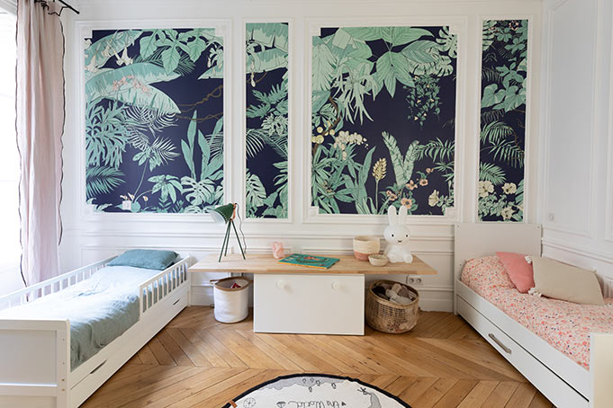 Ohmywall Papier peint Jungle Tropical BORNEO