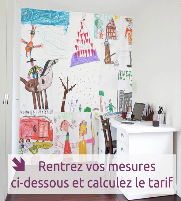 papier peint original d cor mural en dition limit e. Black Bedroom Furniture Sets. Home Design Ideas