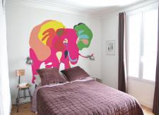 Papier peint Eléphant 1