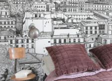 Papier peint Montmartre Panoramique