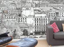Papier peint Montmartre BIG Panoramique