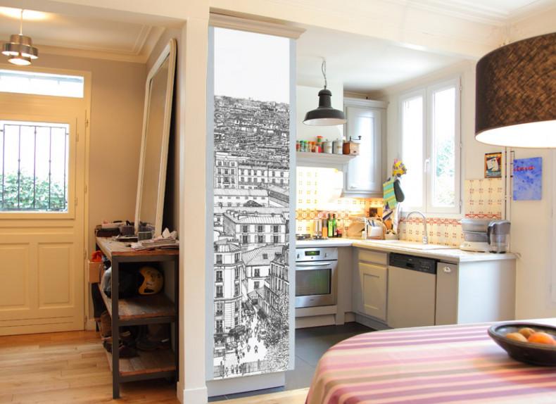 Papier peint Montmartre Deco