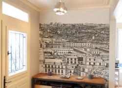 Papier peint Montmartre Centre Medium