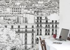 Papier peint Montmartre Droit Medium