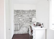 Papier peint Montmartre Gauche Medium