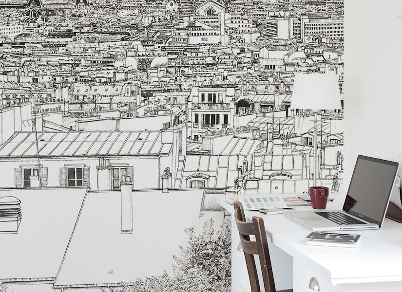 Papier Peint Original Décor Mural En édition Limitée Oh My Wall