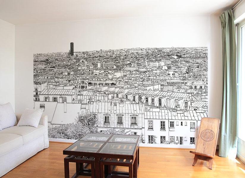 Papier peint original & Décoration murale en édition limitée : Oh ...