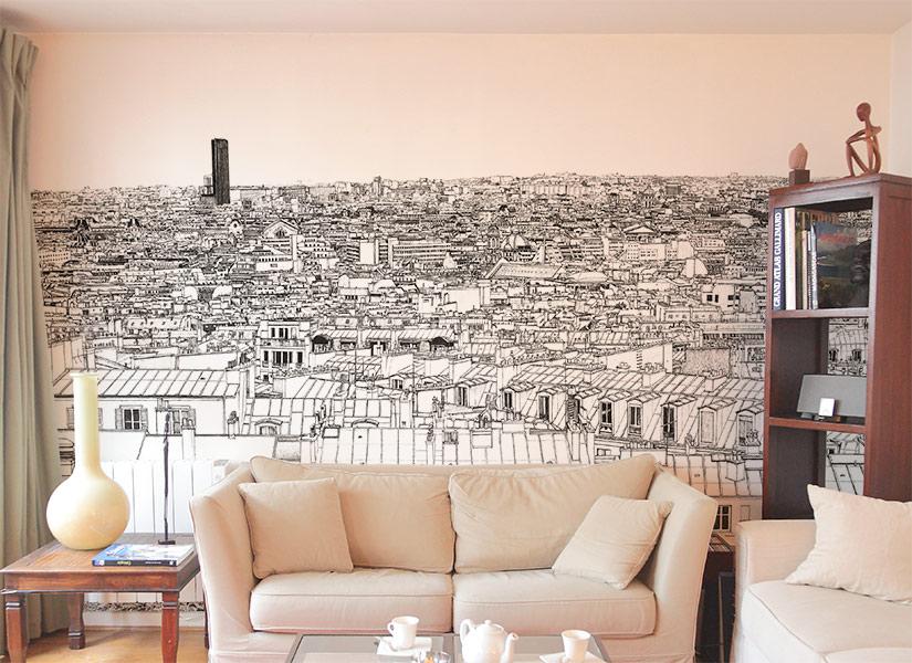 Papier peint original & Décor mural en édition limitée : Oh My Wall ...