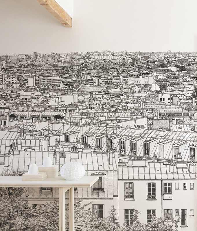 Papier Peint Original Decor Mural En Edition Limitee Panoramique