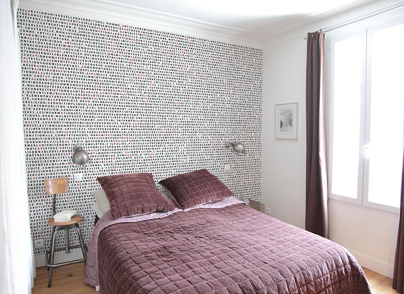 papier peint original d cor mural en dition limit e papier peint panoramique droits de l. Black Bedroom Furniture Sets. Home Design Ideas