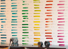 Papier peint NUANCIER United Colors of Ohmywall