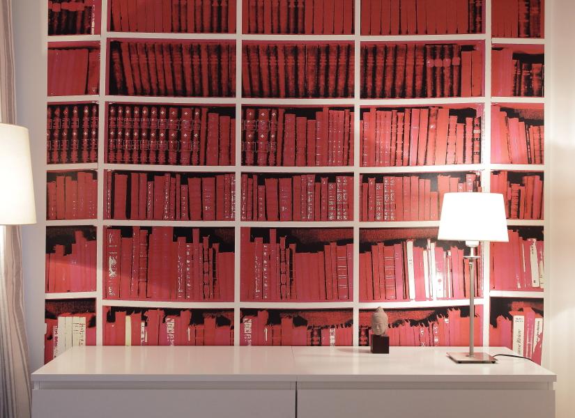Bibliotheque Papier Decor D