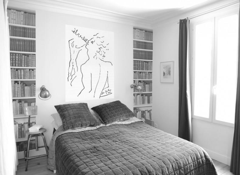 Papier peint original d cor mural en dition limit e - Papier peint trompe l oeil pour chambre adulte ...