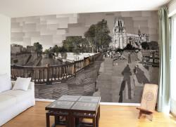 Papier peint Paris Ile de la Cité