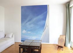 Papier peint Entre Ciel et Mer