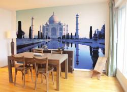 Papier peint Blue Taj Mahal