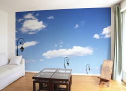 Papier peint Hommage à Magritte