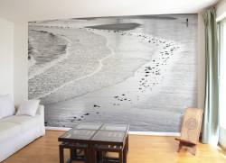Papier peint l'Homme et la Mer