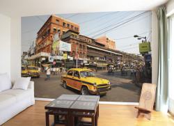 Papier peint Le fameux Yellow Cab