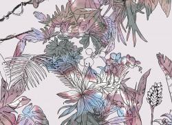 Papier peint Jungle Tropical Multicolore Big Panoramique