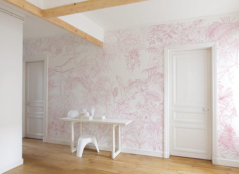Papier peint fresque murale fabulous papier peint - Papier peint fresque murale ...