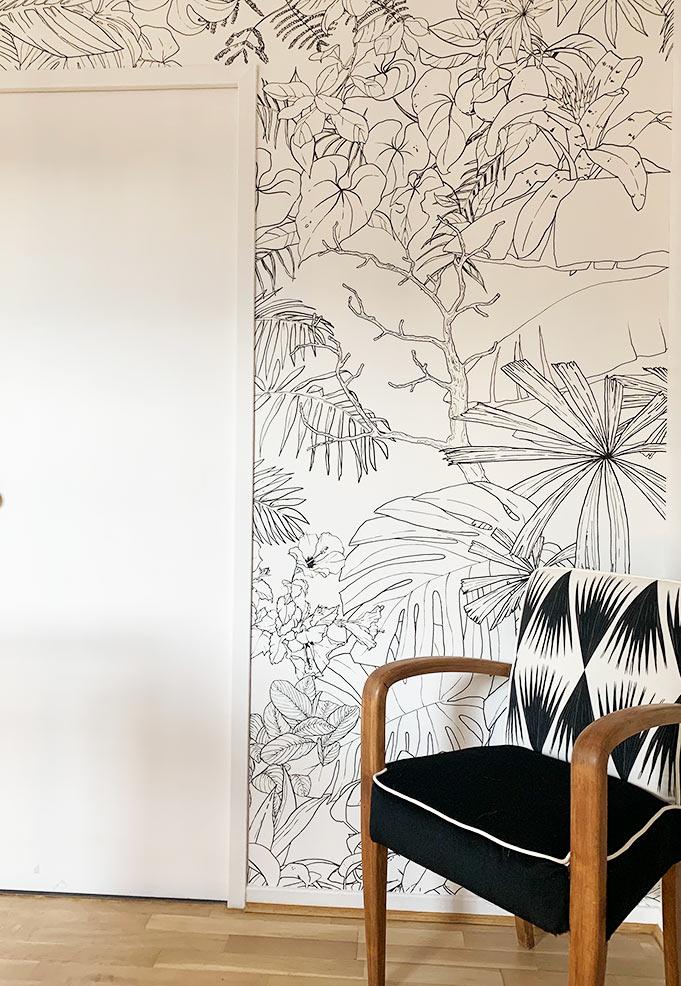 ohmywall-papier-peint-Jungle-Tropical-Noir-et-blanc-chez-un-client-2.jpg