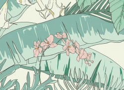 Papier peint Jungle Tropical AMAZONAS Big Panoramique