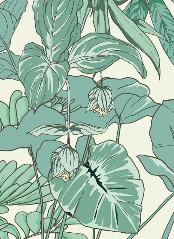 Papier peint Jungle Tropical AMAZONAS Déco