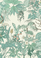 Papier peint Jungle Tropical AMAZONAS Medium
