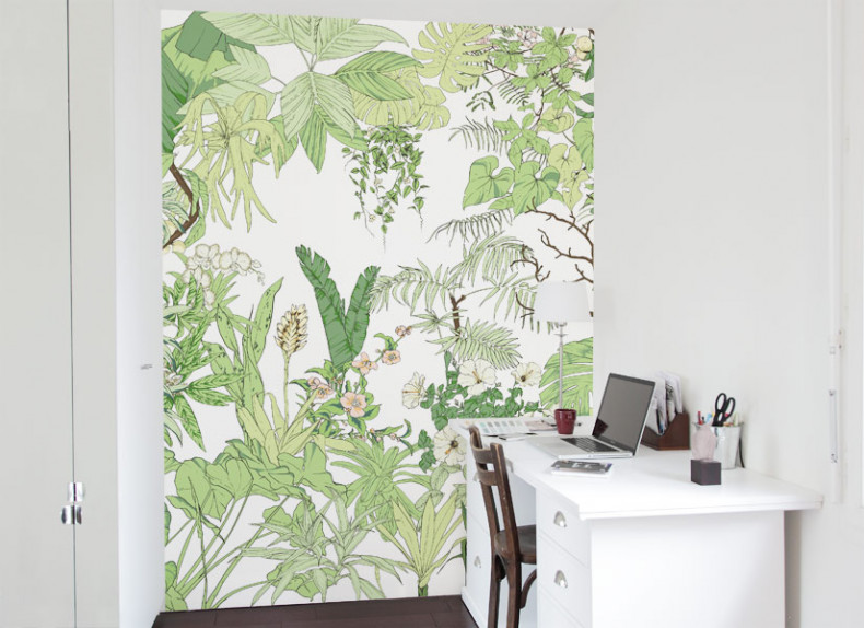 Papier peint Jungle Tropical BALI Medium