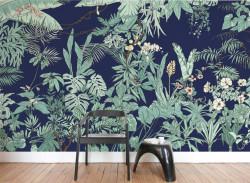 Papier peint Jungle Tropical BORNÉO Panoramique