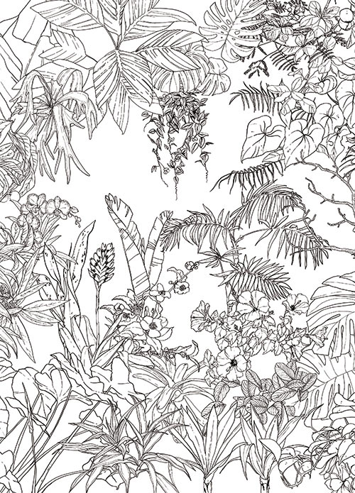 Papier Peint Original Décor Mural En édition Limitée Ohmywall